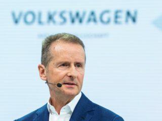 VW-Chef Diess in Handelsblatt Disrupt